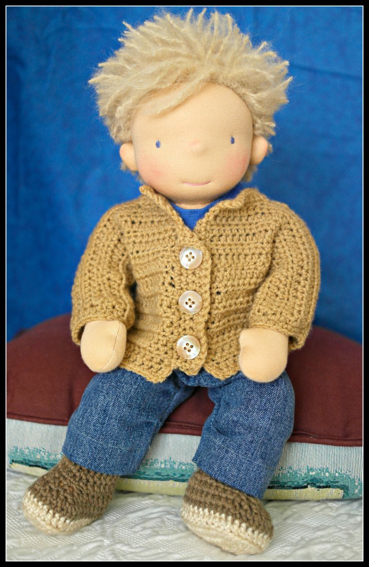 15in Waldorf Inspired Doll by Jemilynndolls ready to ship by jemilynndolls on…