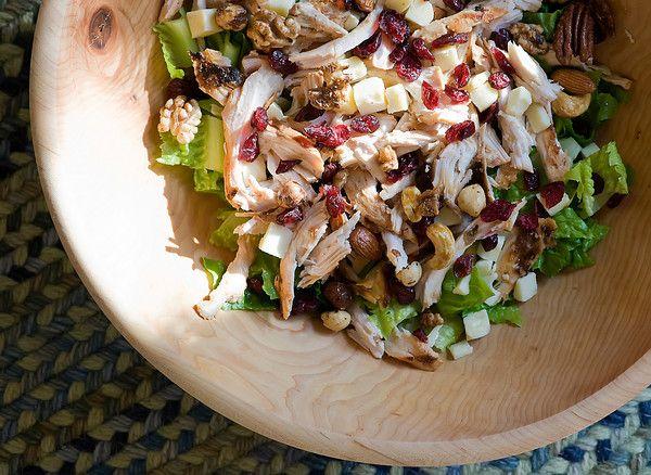 Cranberry Walnut Chicken Salad.  It's chicken salad season!