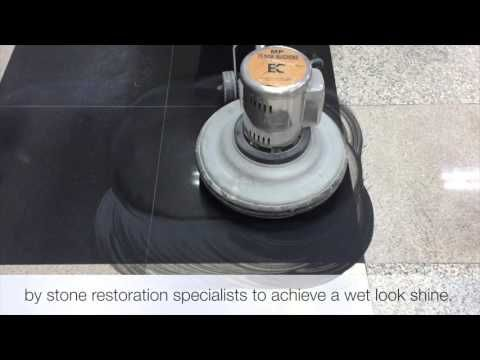 How to resurface and polish granite - YouTube