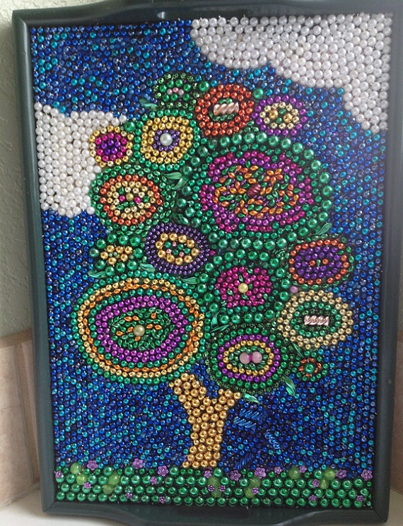 17 best images about mardi gras bead art on pinterest for Arts and crafts for sale