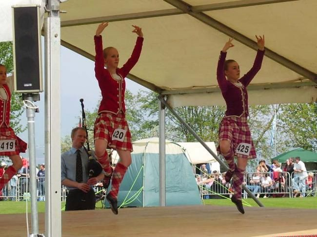 Danses traditionnelles - Highland Games