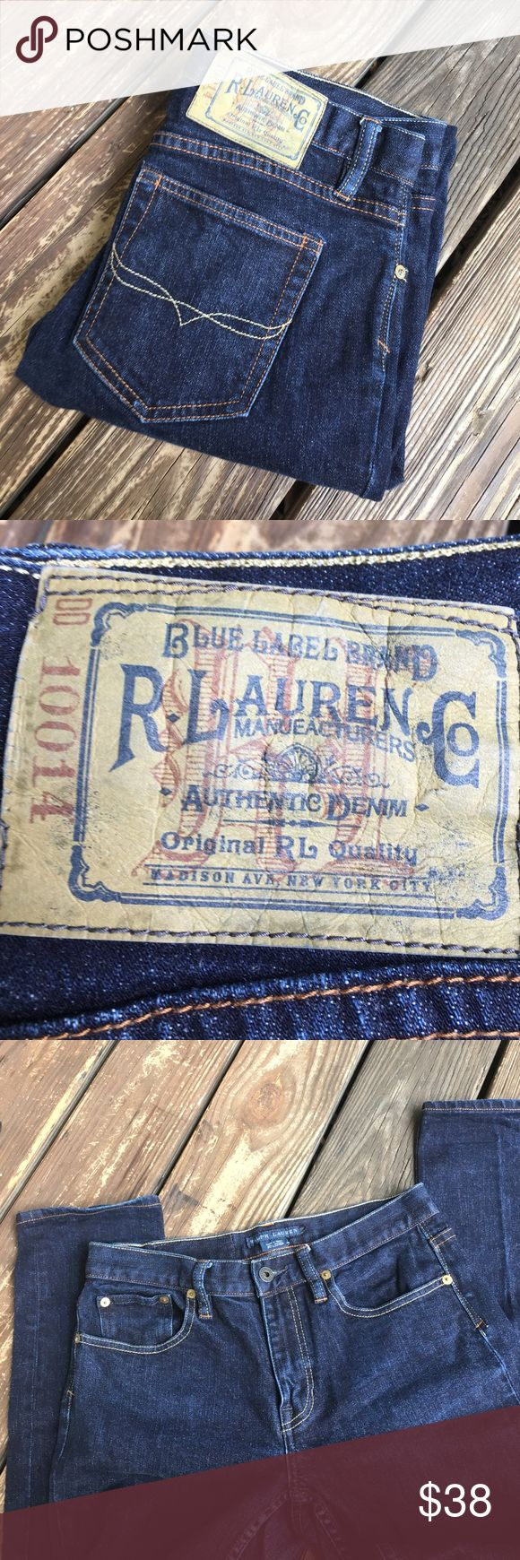 "Ralph Lauren Thompson 650 Jeans Very nice pair of straight leg jeans. 98% cotton 2% elastane.  New condition. Size 29.  Waist 30 and inseam 31"".  Reasonable offers are always welcome.  PT68 Ralph Lauren Blue Label Jeans Straight Leg"