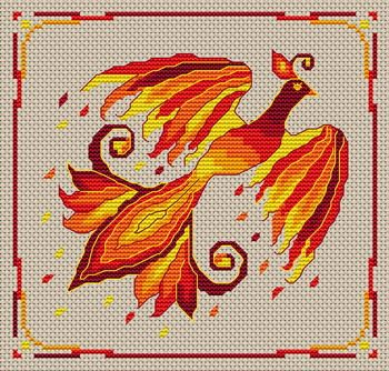 Phoenix free pattern | Cross Stitch ideas & tools ...