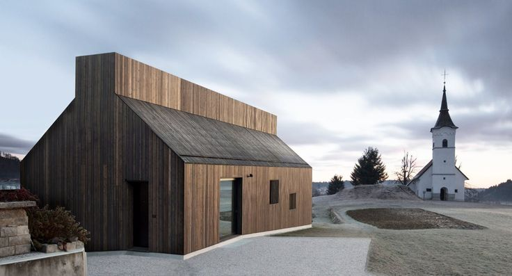 Nestled between a 16th century church and a wooden barn, the Slovenia-based firm dekleva gregorič architects have designed the Chimney House to both follow the rules of local architecture while marking a typological transformation based on the users' specificity. The architects have used...