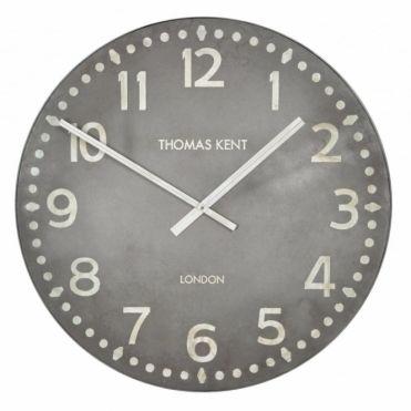 Wharf Large Wall Clock Grey
