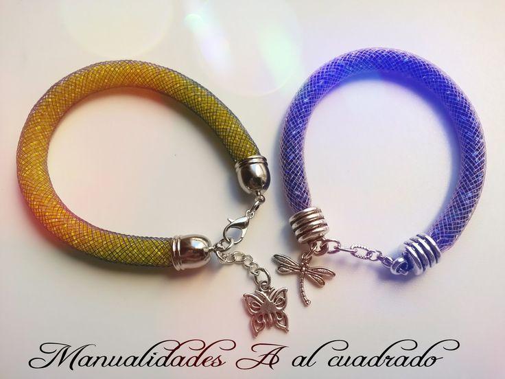 Como hacer una pulsera de malla muy fácil es.PandaHall.com