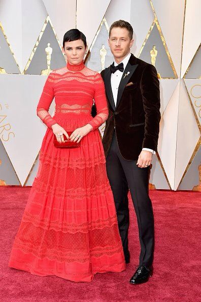 Ginnifer Goodwin and Josh Dallas at the 2017 Academy Awards