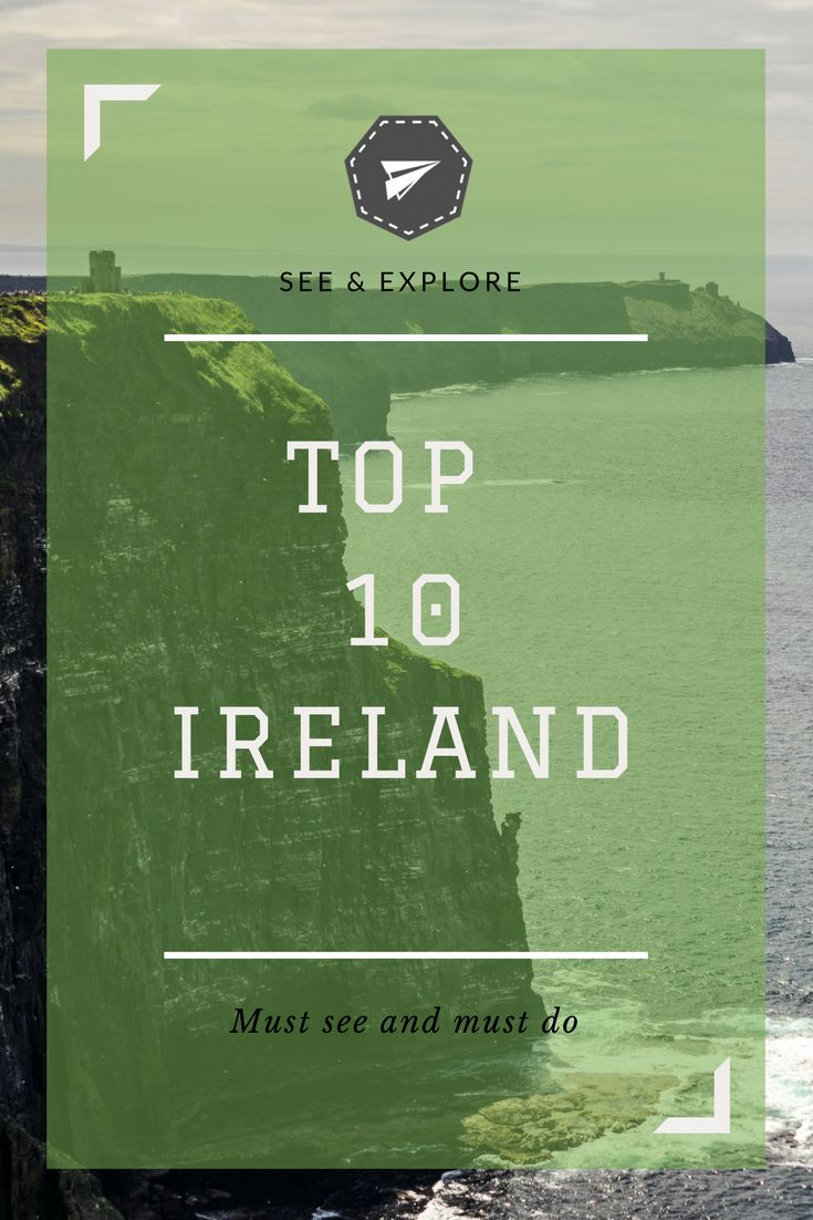 You'd be crazy to not go to these 10 of my favourite spots that I went to on my roadtrip around the stunning country of Ireland.