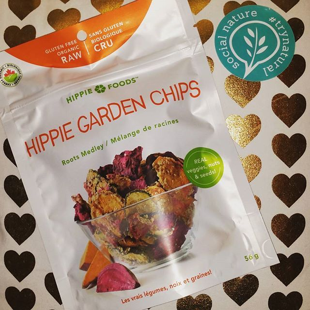 Thank you Social Nature for sending me these Hippie Garden Chips to try!! Im always on the hunt for new healthier snack options and these are really tasty and give the same salty satisfaction as a potato chip without all the bad stuff!! I got the Roots Medley ones to try because I love sweet potato chips but there are 2 other varieties that I definitely want to pick up in Crunchy Coleslaw and a Stir Fry mixture. You really can't go wrong with a Raw, Non-GMO, Organic, Gluten-free snack and…