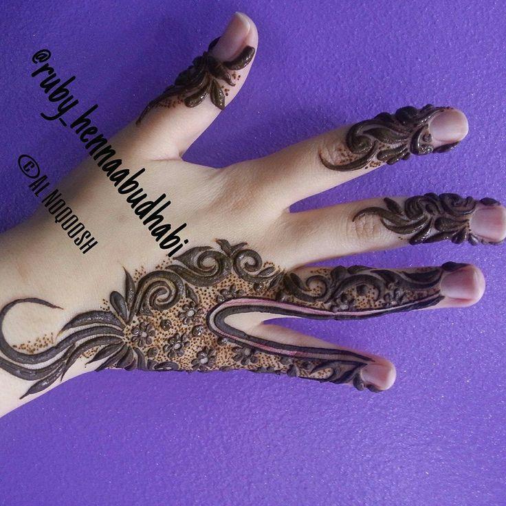 easy henna design