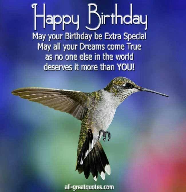 Bday hummingbird | Cute eCards | Pinterest | Hummingbirds