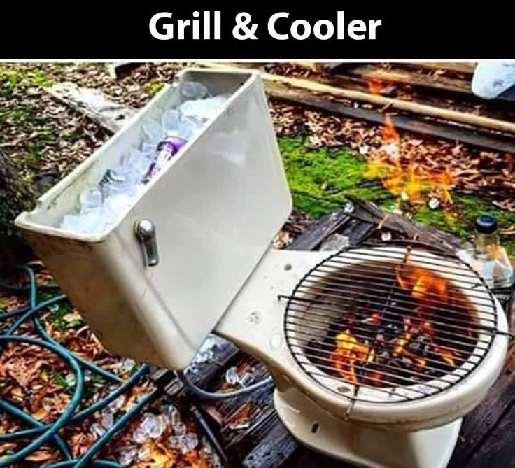 You can make a DIY grill from almost any object! Tire rim, Horseshoes, Machine drum, car parts... Take some in