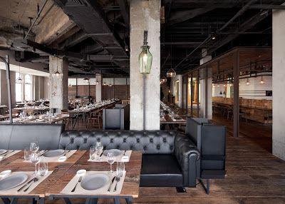 Aydınlatma ve Dekor Dünyasından Gelişmeler: Neri & Hu'dan Shanghai'da Mercato Restaurant Aydınlatma #aydinlatma #lighting #design #tasarim #dekor #decor