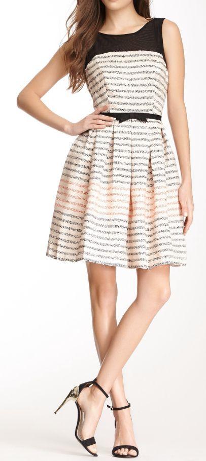 Stripe Party Dress ♥