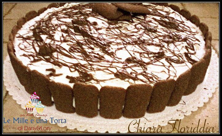 TORTA FREDDA NUTELLA E MASCARPONE, CON PAVESINI AL CIOCCOLATO RICETTA DI: CHIARA FLORIDDIA Per la base: 4 pacchetti di pavesini al cioccolato