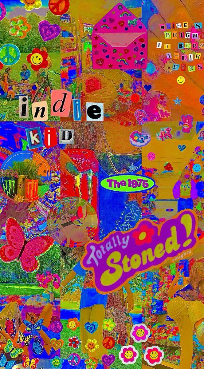 Indie Background Hippie Wallpaper Indie Art Retro Wallpaper Iphone