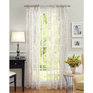 1000 images about curtains on pinterest curtain rods - Better homes and gardens curtain rods ...