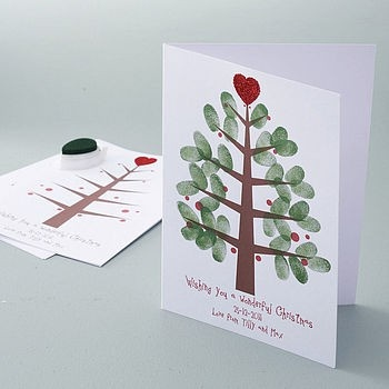 Cute thumbprint tree / Holidays & Events / Trendy Pics