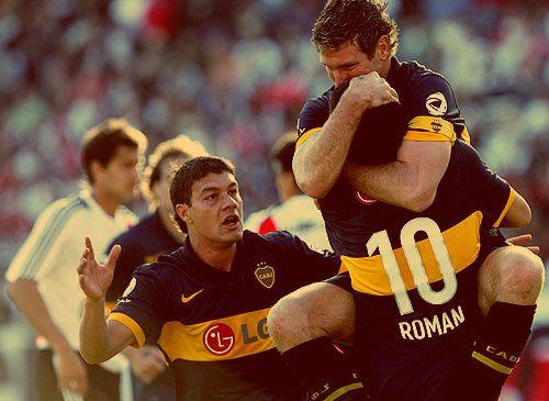 Battaglia, Riquelme y Palermo #GRANDES