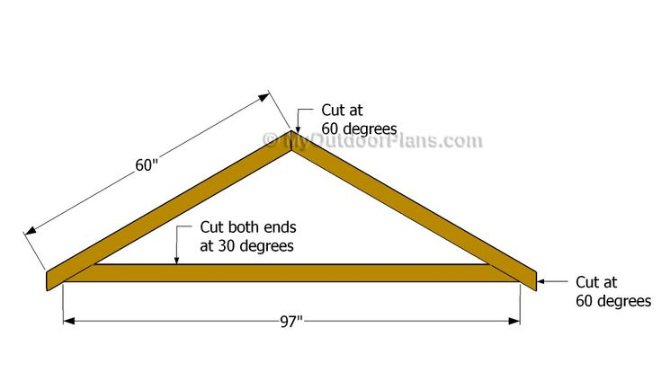 1000 ideas about shed plans on pinterest storage sheds for Building your own roof trusses