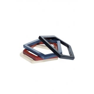 Geometric Shaped Bangle   Bracelets & Bangles   Womens   Collections   Elk Accessories