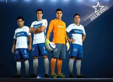 CD Universidad Católica 2014 PUMA Home and Away Kits