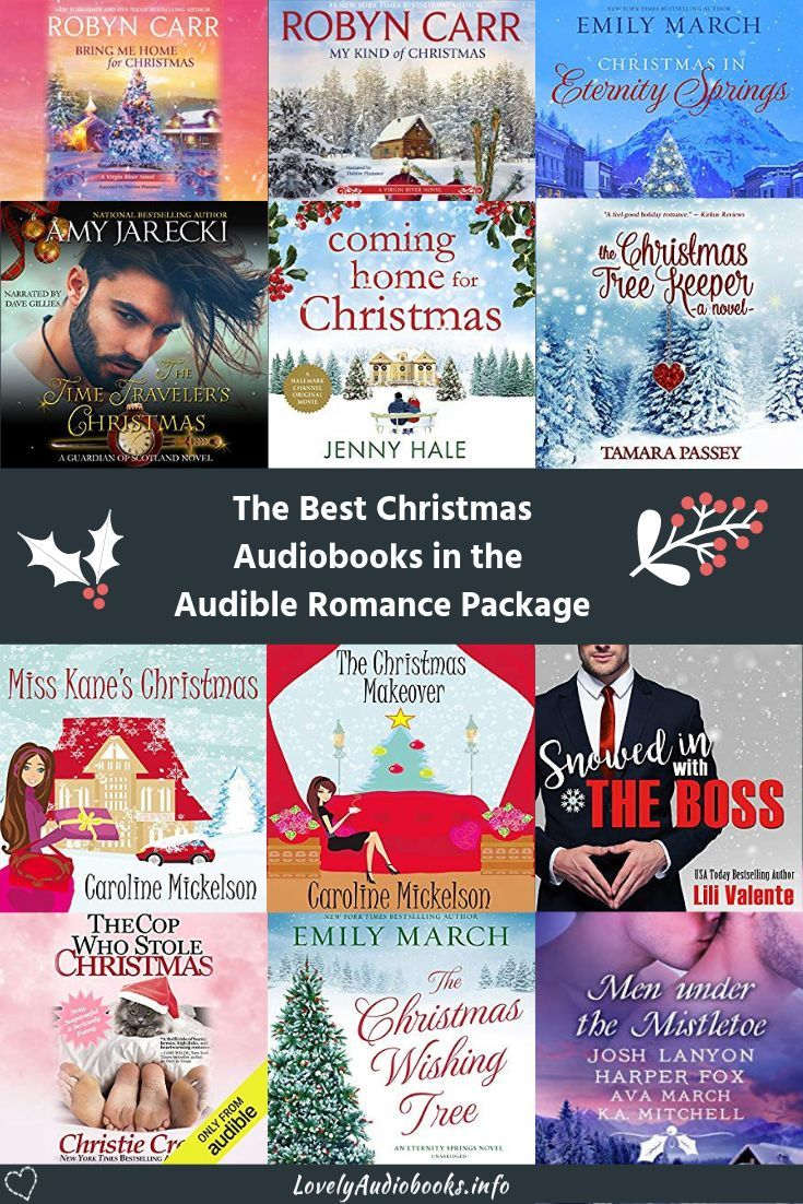 The most romantic audiobooks to binge on during December! All the