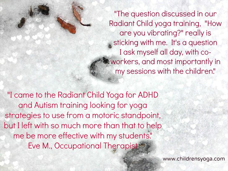 Therapist's viewpoint on how children's yoga has changed her work