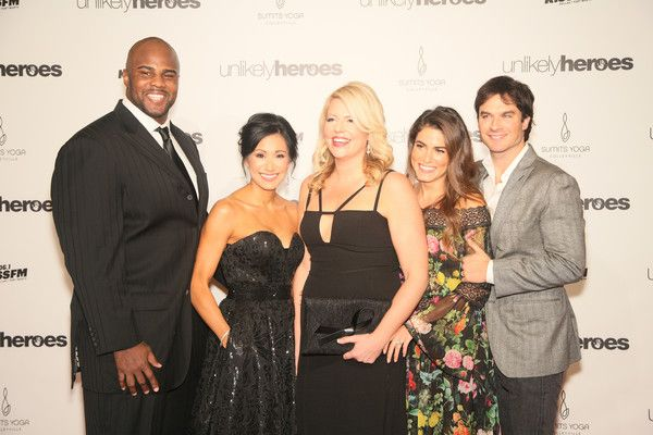 Ian Somerhalder Photos Photos - Kenyon Coleman, Katie Cole, Erica Greve, Nikki Reed and Ian Somerhalder attend the Unlikely Heroes 4th Annual Recognizing Heroes Charity Benefit at The Ritz-Carlton, Dallas on November 12, 2016 in Dallas, Texas. - Unlikely Heroes 4th Annual Recognizing Heroes Charity Benefit at the Ritz-Carlton, Dallas