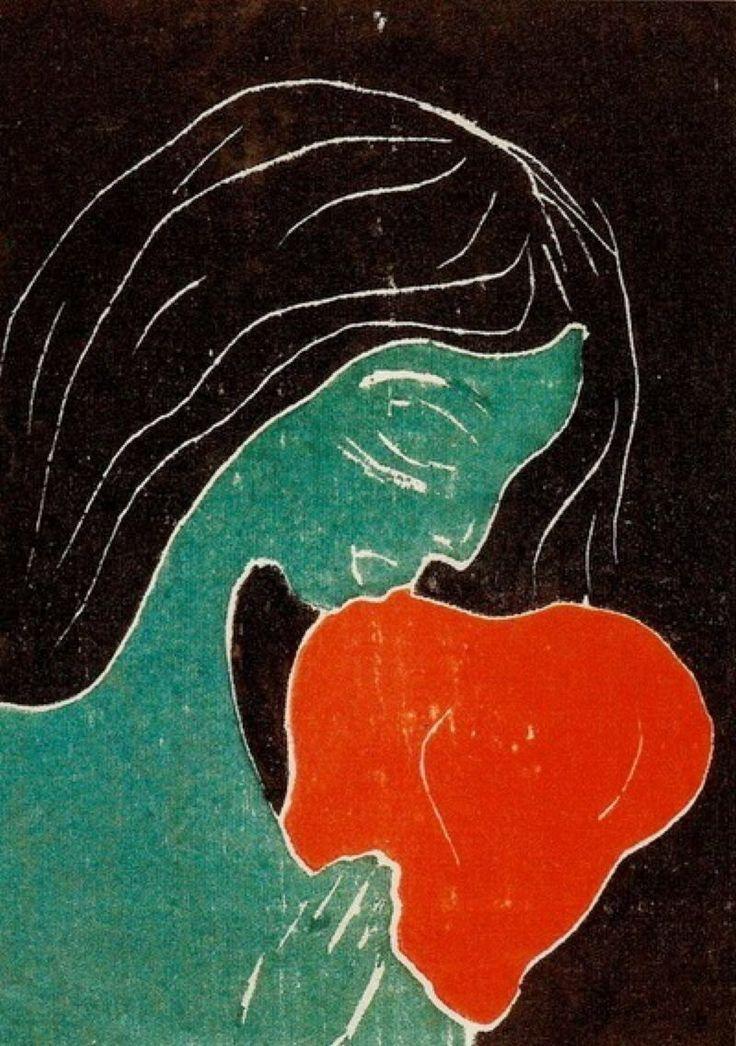 Edvard Munch - The Heart, 1899                                                                                                                                                                                 Mais