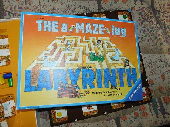 The Amazing Labyrinth Board Game Ravensburger Games Discovery