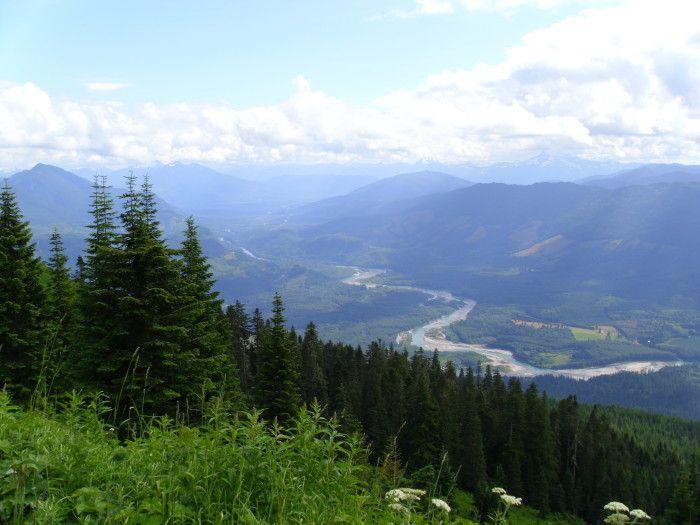 15 hikes less than 5 miles long in Washington State - this is #13 - Sauk Mountain