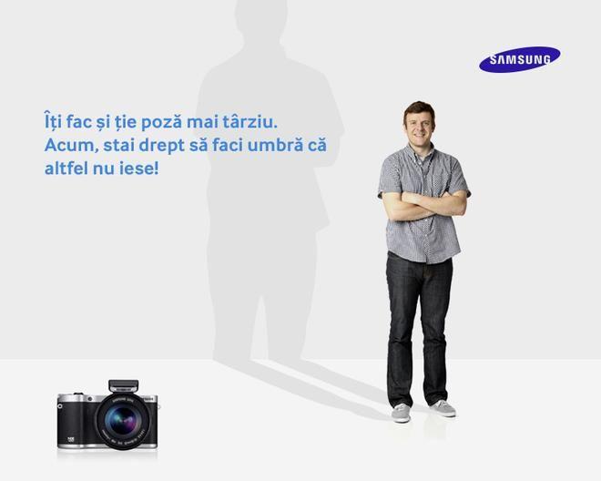 Dacă și tu te-ai săturat să faci setările la fiecare fotografie, ar trebui să încerci aparatul foto Samsung NX 300 cu tehnologia Smart Mode prin care reglezi rapid parametrii potriviți oricărei situații.