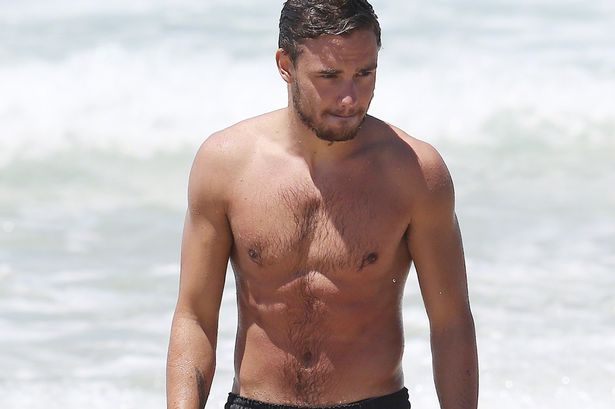 Liam Payne  One Direction  Liam Payne Shirt Off