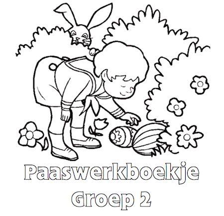 Paaswerkboekje Groep 2 - Klaarwerk.nl