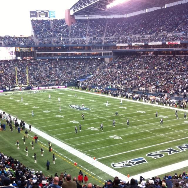 Century Link stadium!!! Go Seahawks!!!