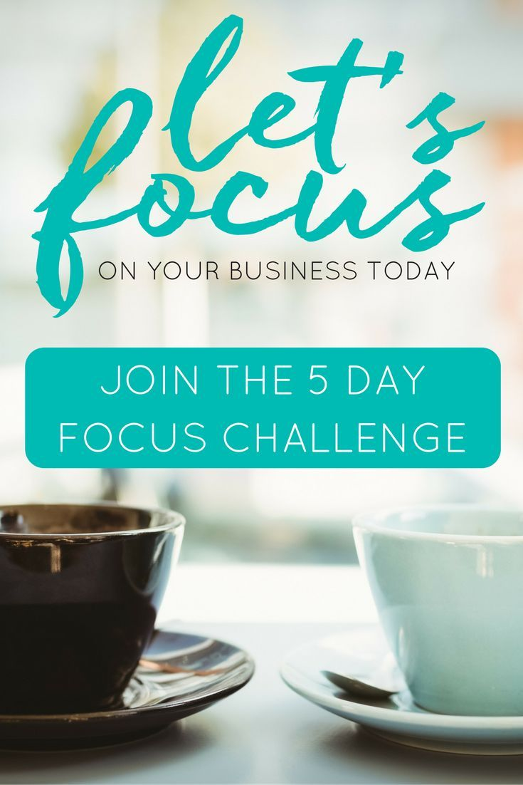 Join the 5-day FOCUS challenge + get your business on track! via The Virtual Savvy #va #virtualassistant #marketing #socialmedia #blogging #branding