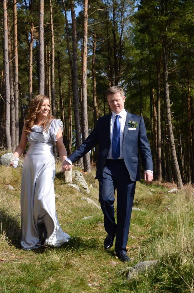 Wedding Couple at Kippure.