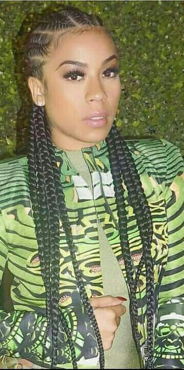 Keyshia Cole Braids