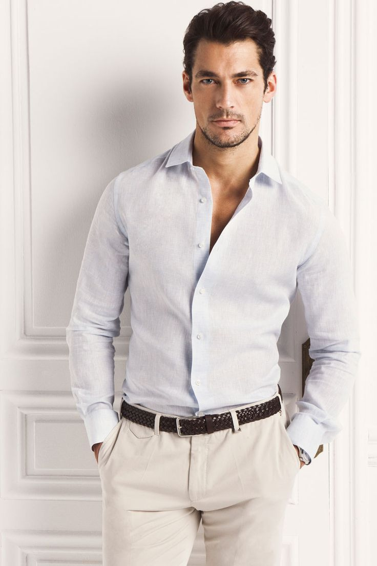 David Gandy for Massimo Dutti 2013. Seriously?!  It's not fair for a man to be that gorgeous!