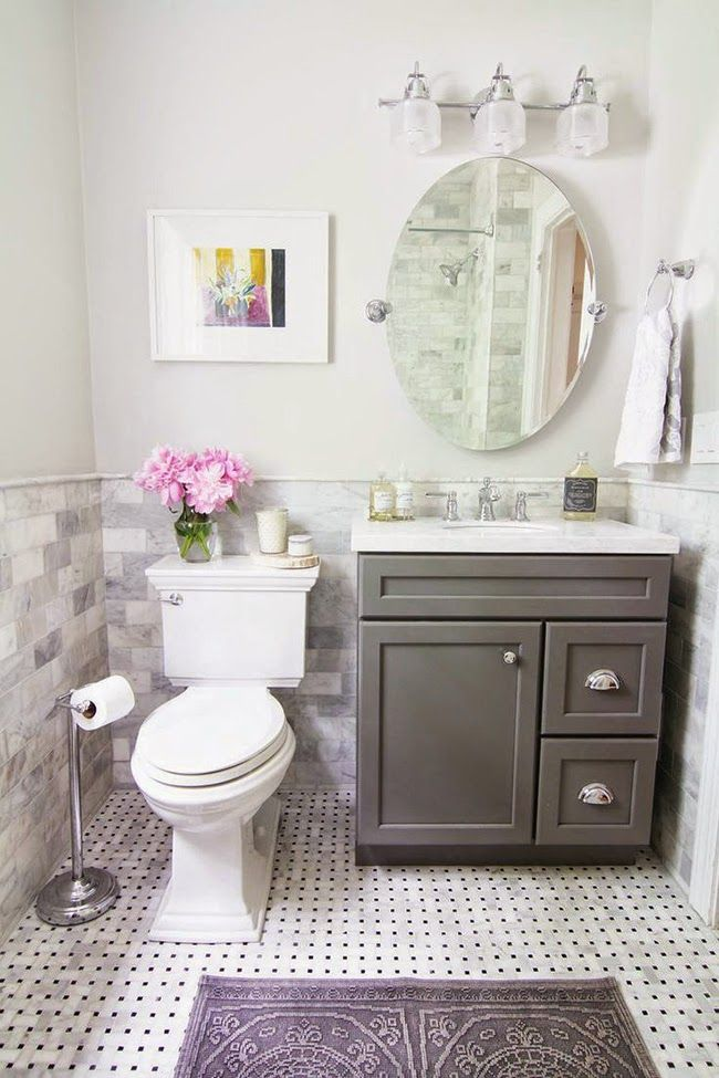Small Bathroom Ideas To Make It Look Bigger 34 best decoración images on pinterest | bathroom ideas, home and live