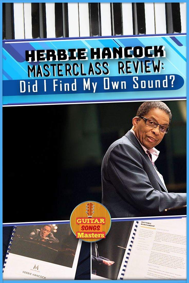 "0348d99c2dc3 Herbie Hancock Masterclass Review  Did I ""Find My Own Sound""  My review"