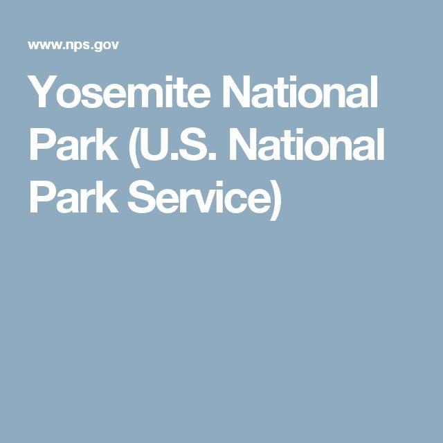 Yosemite National Park (U.S. National Park Service)
