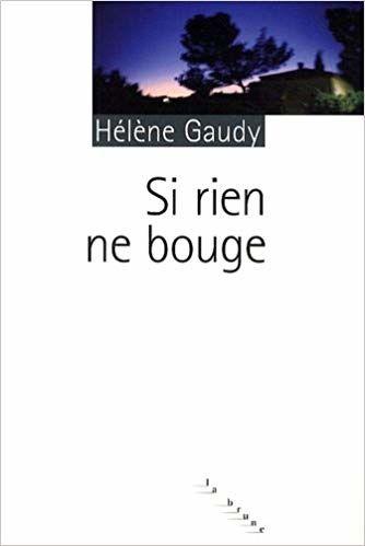 Si rien ne bouge - Hélène Gaudy