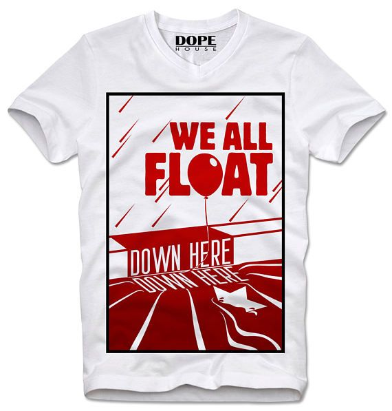 DOPEHOUSE T-Shirt Tee Pennywise The Dancing Clown It Stephen