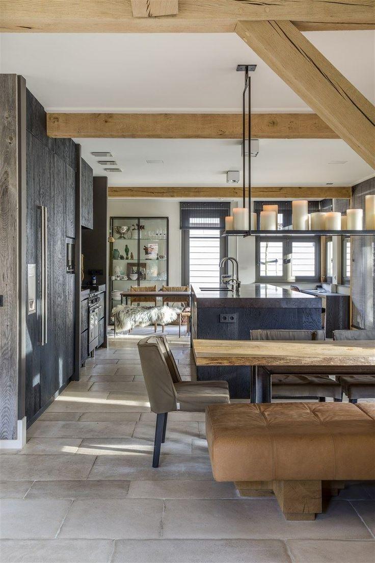Une maison moderne et rustique aux Pays-Bas | PLANETE DECO a homes world | Bloglovin'