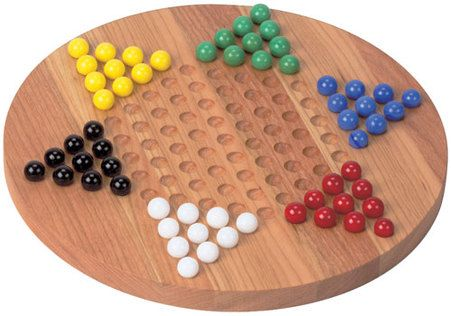 One of the most popular wooden board games—our Chinese Checker boards are crafted from cherry wood. We offer the standard 6 player board and a unique 2 player board. Instructions are engraved on the back and a pouch is included for marble storage. Additional marbles can also be purchased. Available at www.IntraNationalMall.com