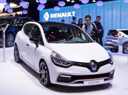 Renault Reveal The Clio RS 220 Trophy EDC at Geneva Motor Show