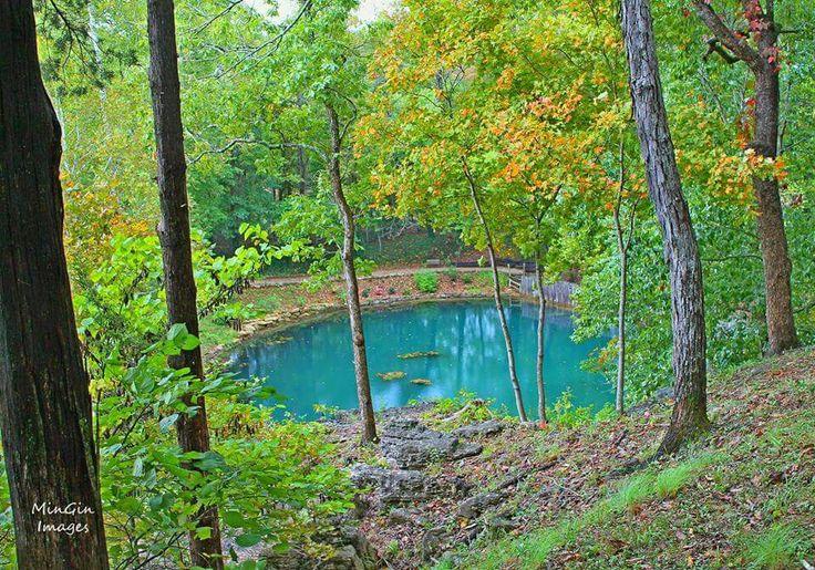 Blue Spring in Eureka Springs