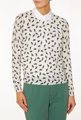 Printed Bunny Sweater by Band Of Outsiders @ my-wardrobe.com